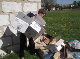 Экологическая акция «Бумажный кораблик»